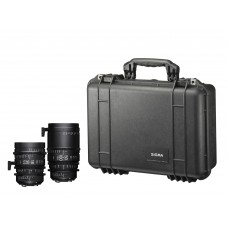 SIGMA KIT 18-35mm T2 + 50-100mm T2 με τσάντα
