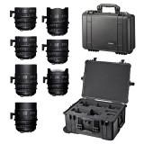 SIGMA KIT 7 Prime Cine Lens Set και 2 τσάντες δώρο