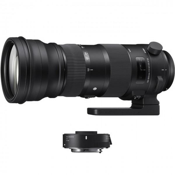 SIGMA 150-600mm F5-6.3 Sports + TC-1401 Teleconver...