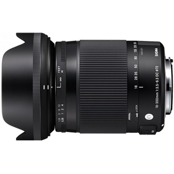 SIGMA 18-300mm F3.5-6.3 DC MACRO HSM [C]