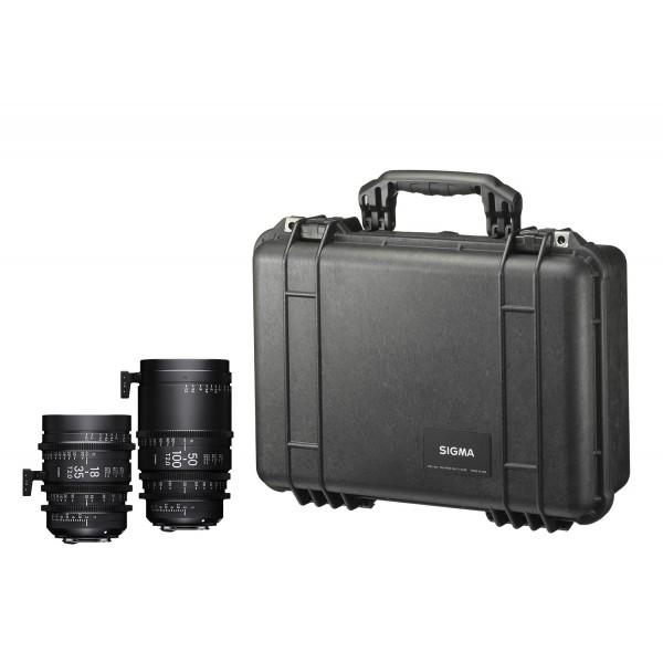 SIGMA KIT 18-35mm T2 + 50-100mm T2 με τσάντ...