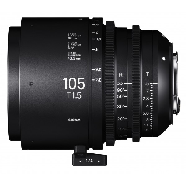 SIGMA 105mm T1.5 FF CINE Lens