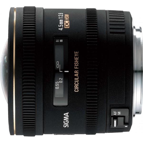SIGMA 4.5mm F2.8 EX DC CIRCULAR FISHEYE HSM F/SIGM...