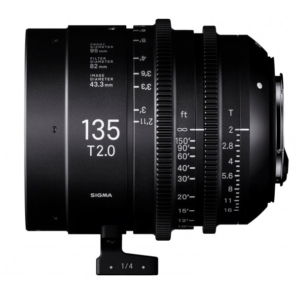 SIGMA 135mm T2 FF CINE Lens