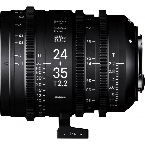 SIGMA 24-35mm T2.2 FF CINE Lens
