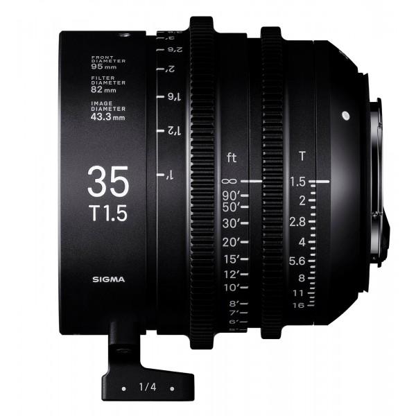 SIGMA 35mm T1.5 FF CINE Lens