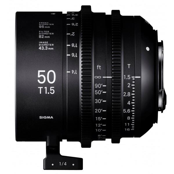 SIGMA 50mm T1.5 FF CINE Lens